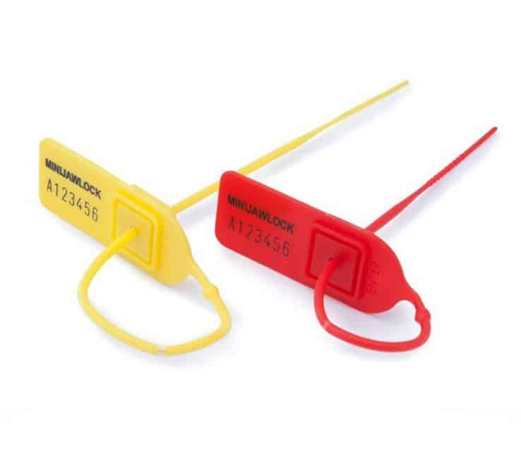 Red Yellow Security Seals