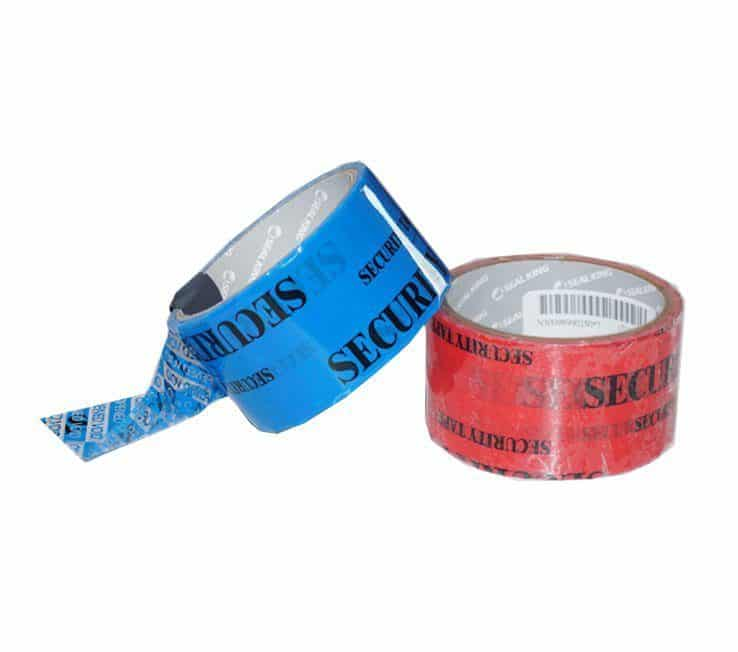 Security Tape Colours