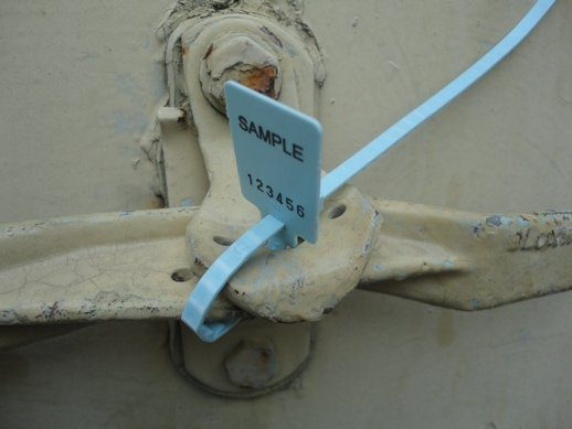 Troseal Applied to Container