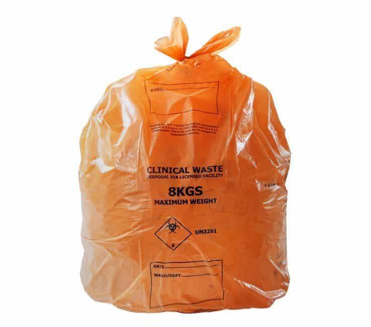 Orange Waste Sacks
