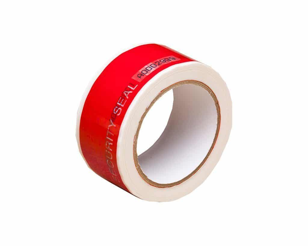 Tear off Security Tape Red