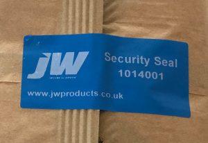 JW tamper proof labels