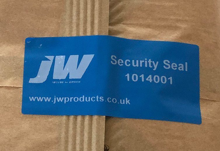 Packaging Security Labels
