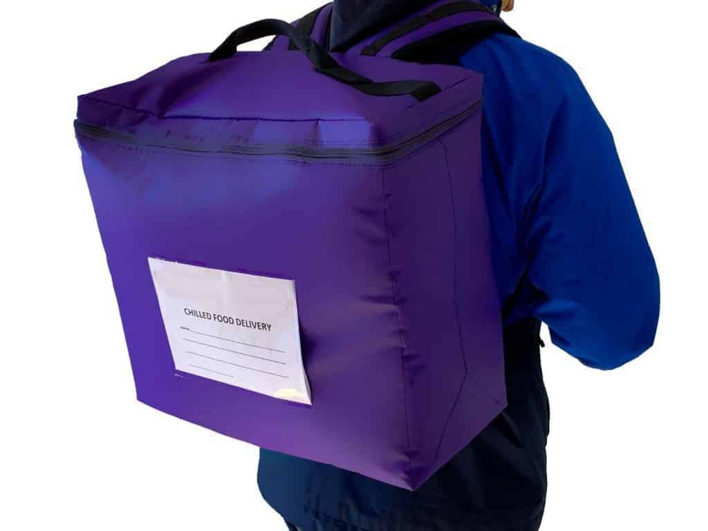 Secure Food Delivery Bag