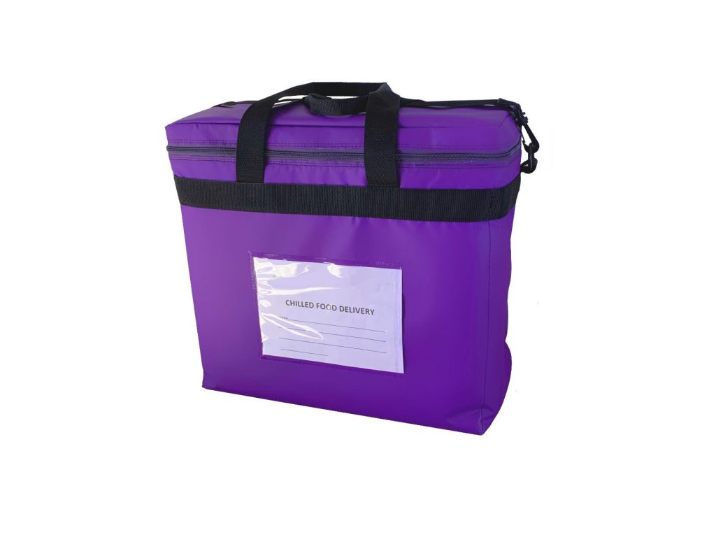 Secure Food Delivery Bag Closed