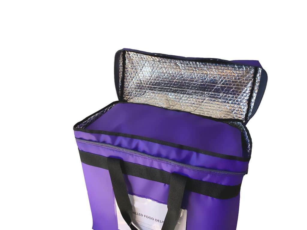 Insulated Food Security Bag