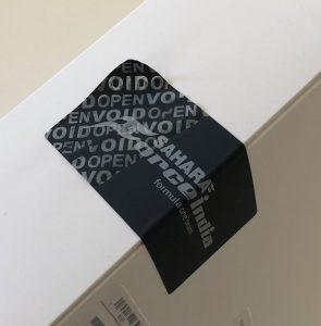 tamper security labels