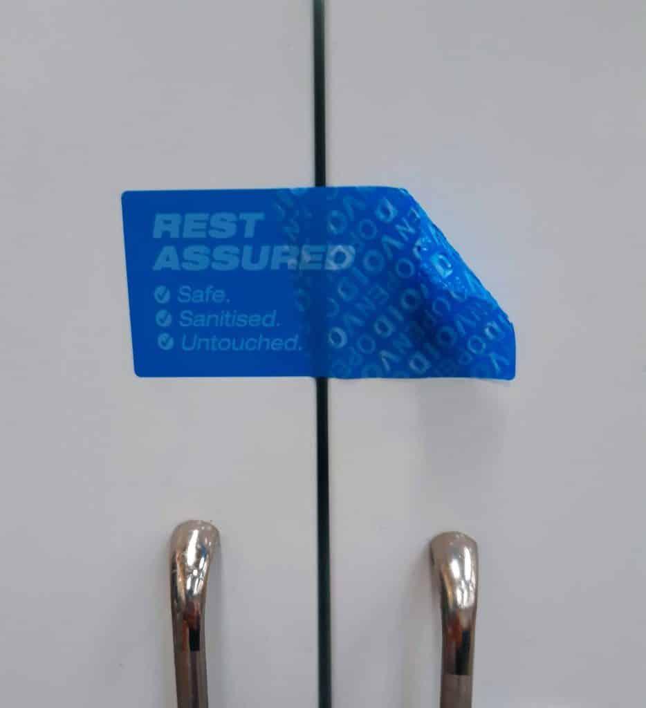 Cleanseal Blue Door Seal