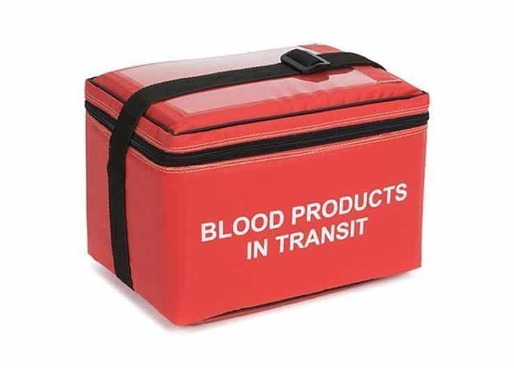 Blood in Transit Bags