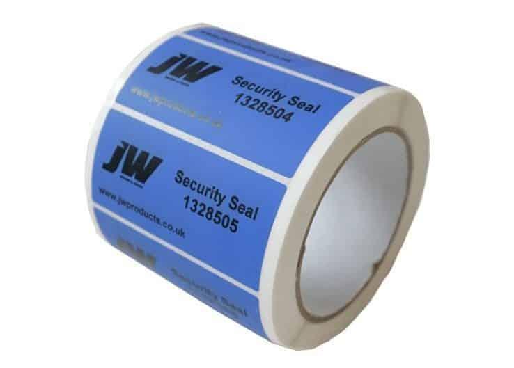 Blue Security Labels