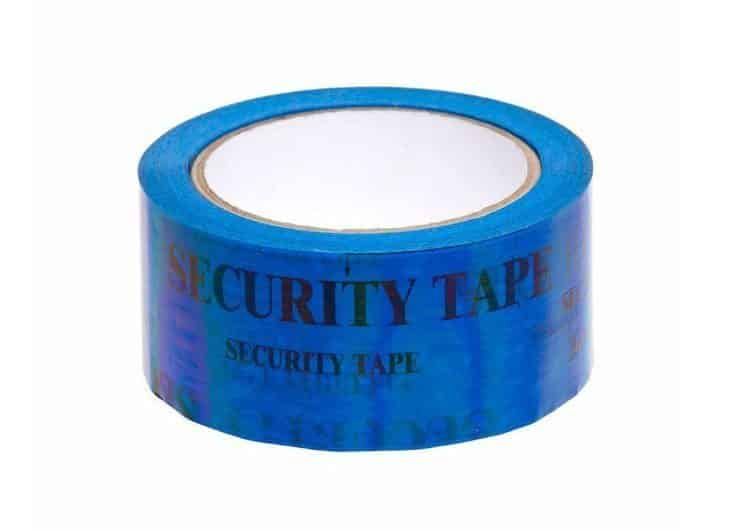 Blue Security Tape