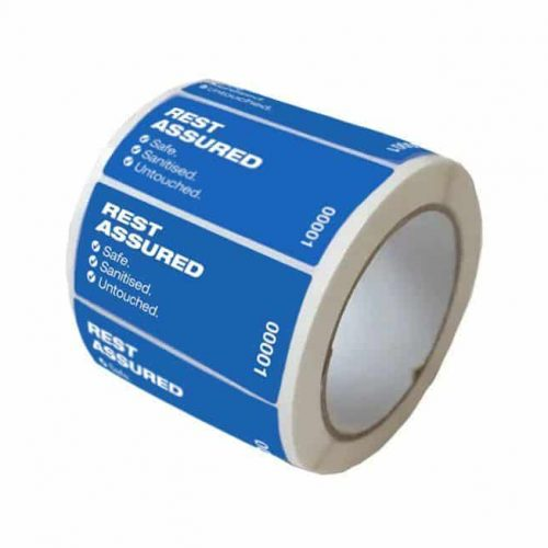 Cleanseal Covid Labels