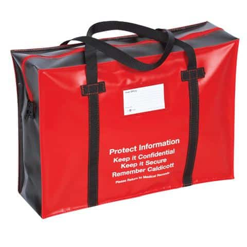 medical records holdall large