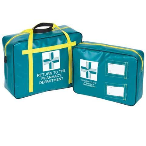 pharmacy carrier pouch