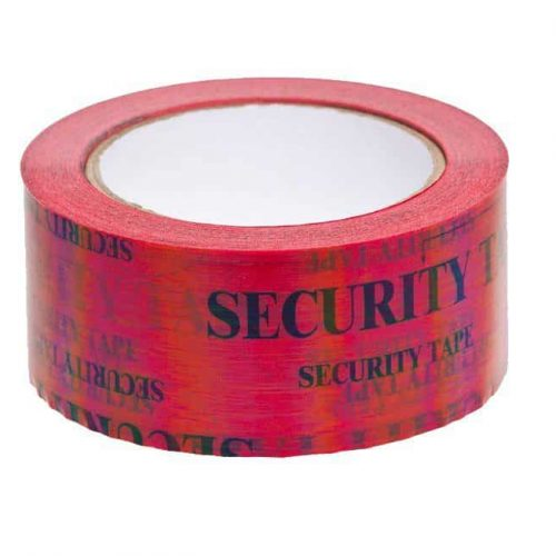 Red Security Tape